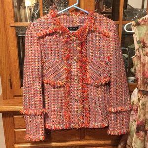 Jackets & Blazers - Small Colorful Knit Blazer for Women